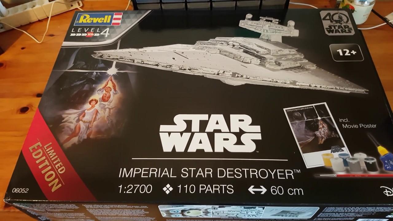 Revell imperial star destroyer level 5