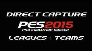PES 2015 Preview - Leagues + Teams