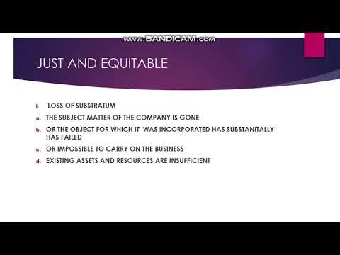 WINDING UP OF A COMPANY PART 1 COMPANY LAW