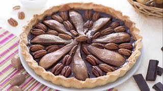 Chocolate Pear And Pecan Pie - Recipe