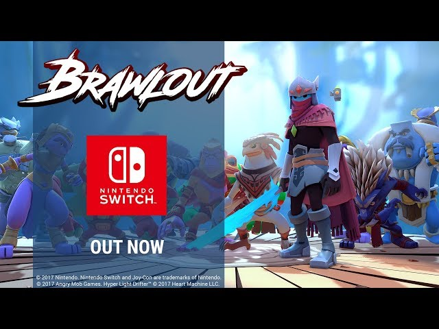 The Switch Is Getting A Fighting Game With The Hyper Light Drifter Dude