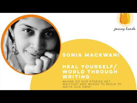 Heal your self / world through writing