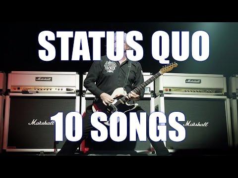 Status Quo Top 10 Songs (Rick Parfitt tribute)