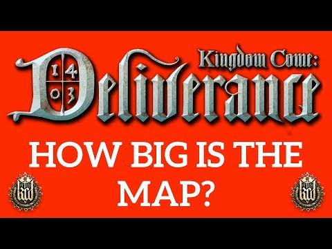HOW BIG IS THE MAP in Kingdom Come: Deliverance? Walk Across the Map