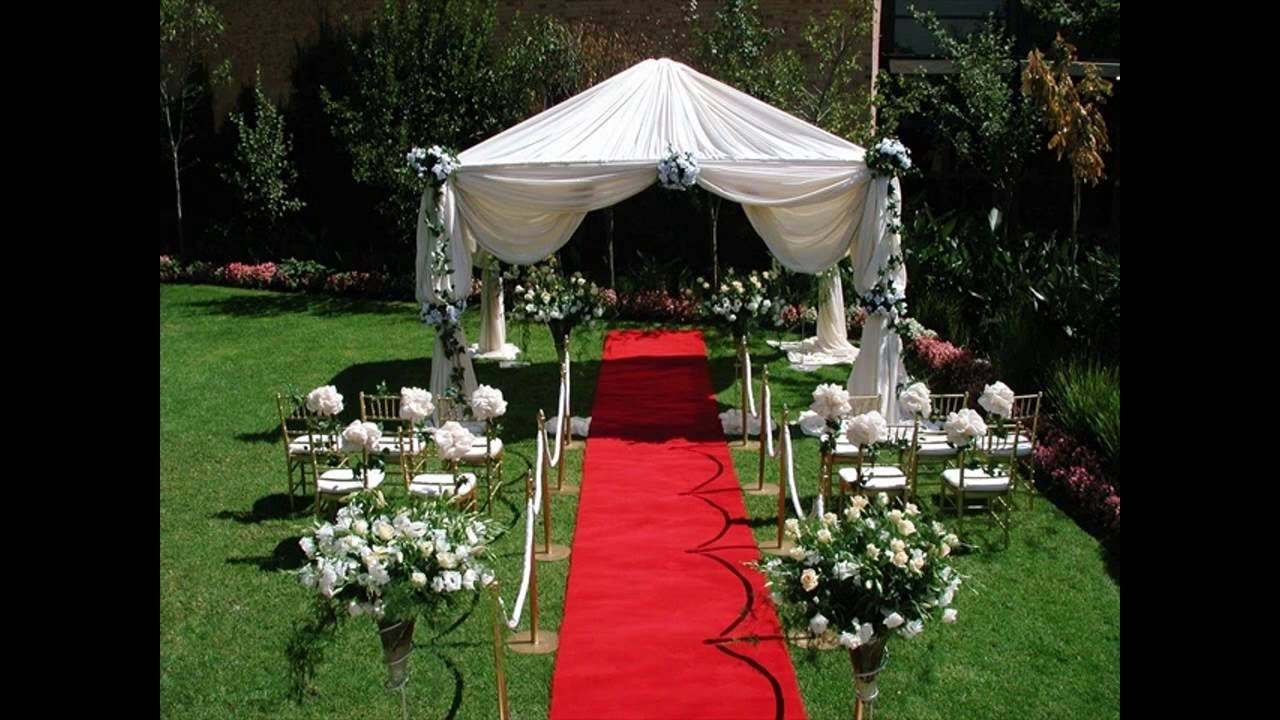 Gazebo Decorations For Weddings Ideas - YouTube