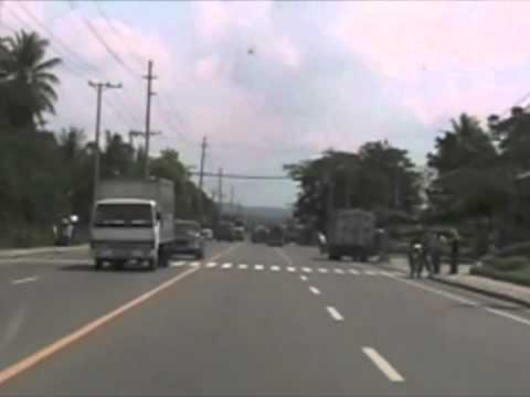 Philippine crazy driving from Sibonga to Cebu City!