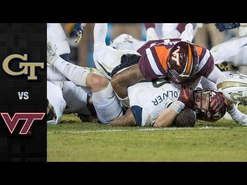 Georgia Tech vs. Virginia Tech Football Highlights (2018)