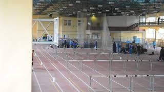 Финал на 60 м с барьерами, юноши