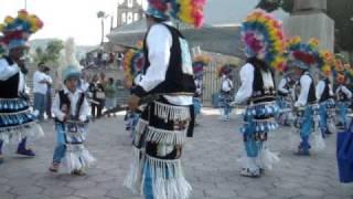 Danza san rogelio martir en el santuario