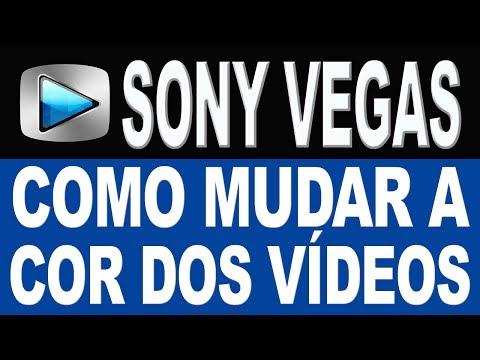 Como Mudar A Cor Dos Vídeos No Sony Vegas