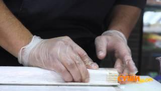 Как приготовить суши (Колумбийский ролл)