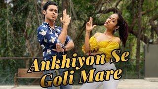 ankhiyon-se-goli-mare---pati-patni-aur-woh-kartik-aaryan-ananya-panday-livetodance-with-sonali
