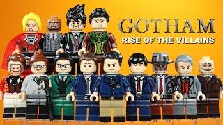 Gotham Rise of the Villains w/ Bruce Wayne Jim Gordon & Alfred Unofficial LEGO Minifigures