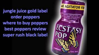 What Is The Best Brand Of Poppers