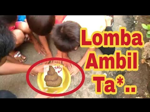 LOMBA AMBIL UANG MALAH DAPAT TAI || LUCU NGAKAK
