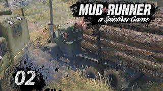 Spintires MudRunner | FESTGEFAHREN im FORST LKW ► #02 Off-Road Simulator First Look deutsch german