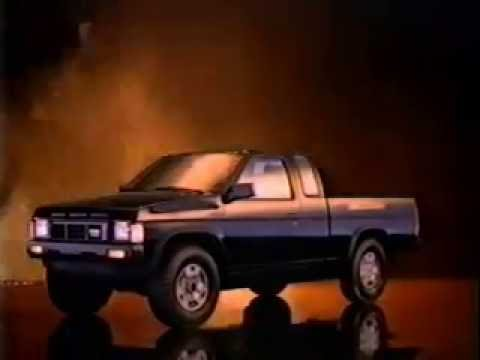 Nissan Compact Pickup Trucks Ad From 1986