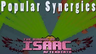 The Binding of Isaac Afterbirth | All Eyes Brimstone! | Popular Synergies!