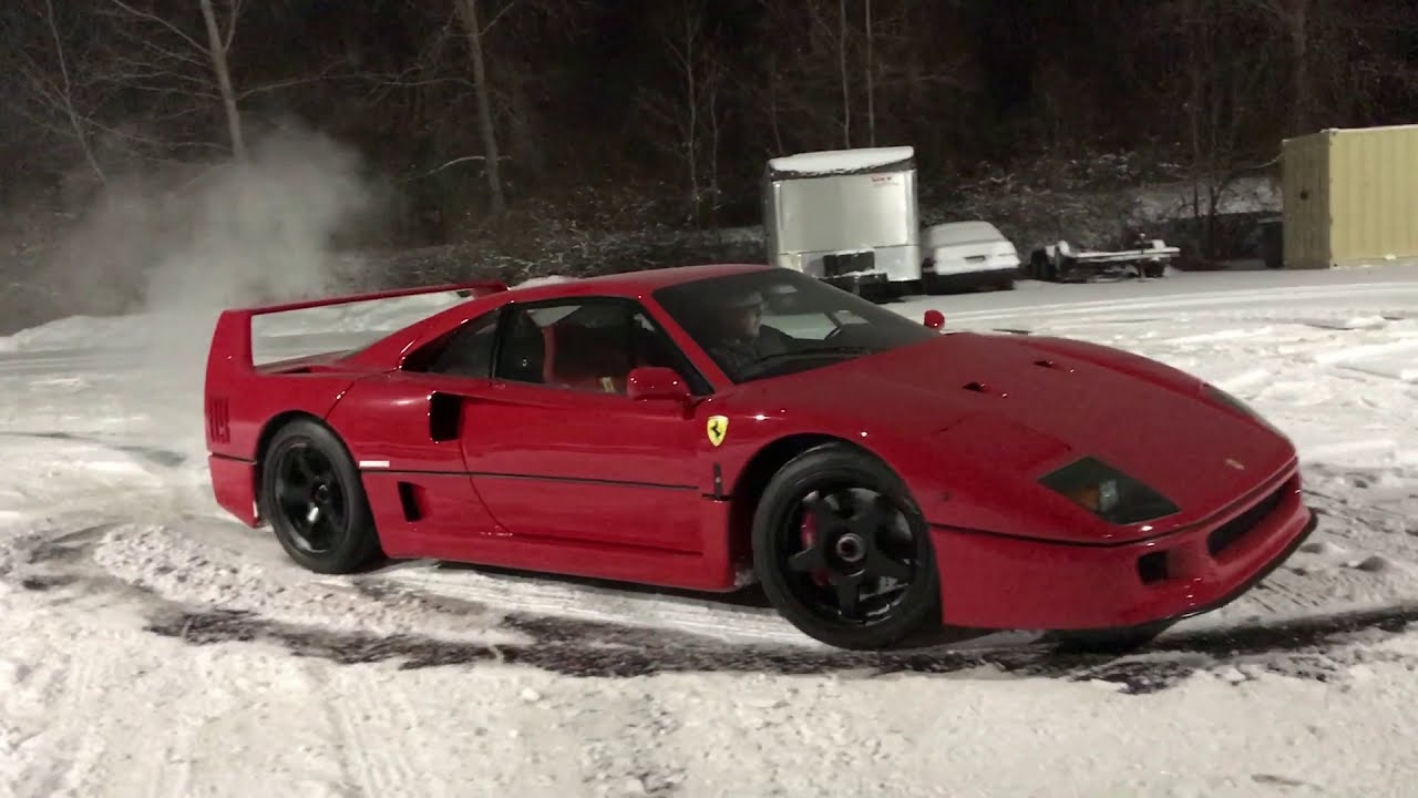 Watch A Ferrari F40 Go Snow Driving For Red Bull Japan Watch A Ferrari F40 Go Snow Driving For Red Bull Japan new foto
