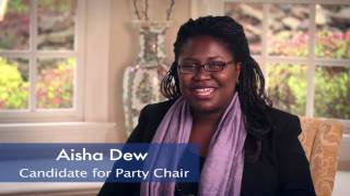 Aisha Dew for Chair of the Mecklenburg County Democratic Party