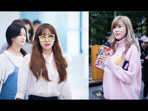 Namjoo and Hayoung A Pink  Ideal Type Update 2017