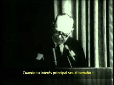 "Leo Burnett: ""Cuando quitar mi nombre de la puerta"" - [Discurso subtitulado español]"