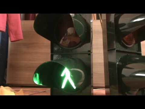 Lichtsignalanlage (Ampel), Steuerung mit SIEMENS Logo Teil 1 - YouTube
