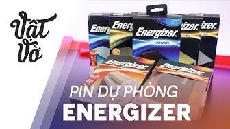 Sạc dự phòng Energizer: tất cả những gì bạn cần biết