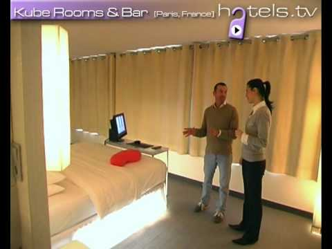 Paris Hotels: Kube Rooms & Bar Hotel - France Hotels and Accommodation - Hotels.tv