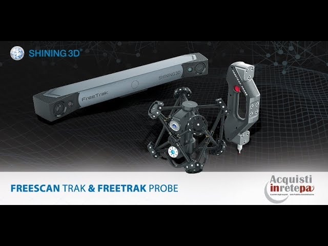 Freescan Trak - Portable Wireless CMM Scanning System - SHINING 3D Metrology Solution - V-GER