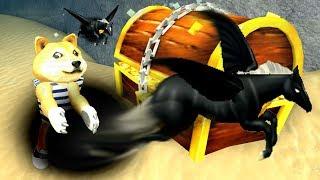 Treasure Hunt Simulator #5 Чёрная Дыра и Чёрный Пегас, делаю ребирты за минуту