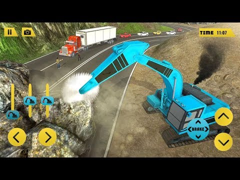 Heavy Excavator Rock Mining 3D (by Fazbro) Android Gameplay [HD]