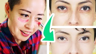 Women Test The Best Way To Cover Dark Circles