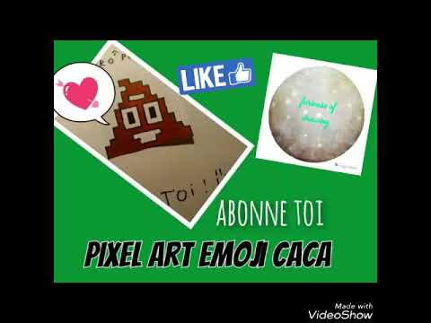 Pixel Art Emoji Caca Youtube