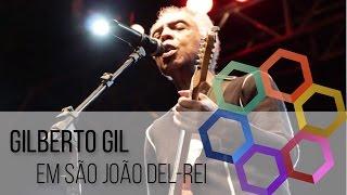Gilberto Gil em São João del-Rei - TV UFSJ