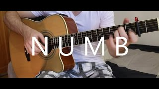 Numb - Linkin Park (fingerstyle guitar cover by Peter Gergely)