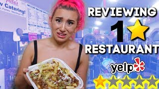Eating At The WORST Reviewed Restaurant In My City *1 STAR*