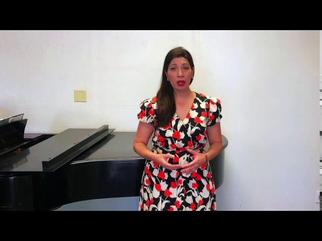 Amour viens aider ma faiblesse from SAMSON ET DALILA -Stephanie Sanchez, mezzo soprano