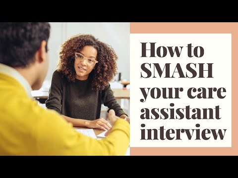 Care Assistant Job Interview - Care Home Interview Questions & Tips