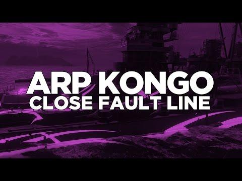 World of Warships - ARP Kongo Close Fault Line