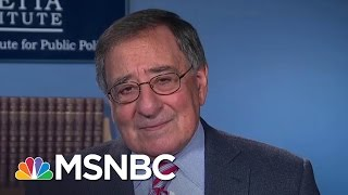 Leon Panetta: Unpredictability Okay If There Is An Underlying Strategy | The 11th Hour | MSNBC Free HD Video