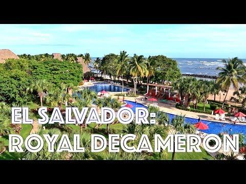 Beach Resort stay at ROYAL DECAMERON [EL SALVADOR]- VLOG
