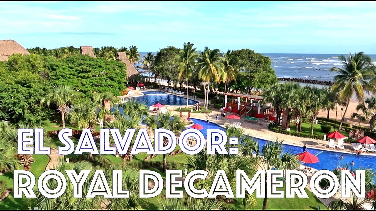 Beach Resort Stay At Royal Decameron El Salvador Vlog