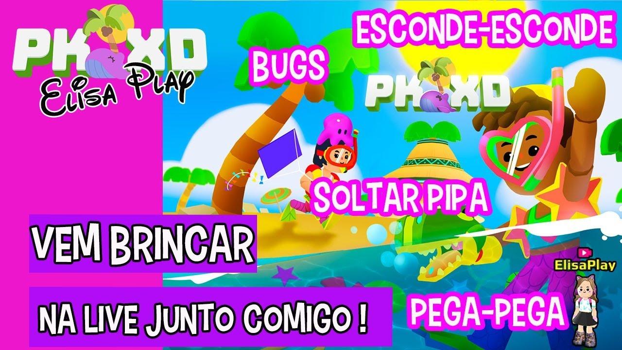 PK XD LIVE ! Live de Brincadeiras ! #pkxd