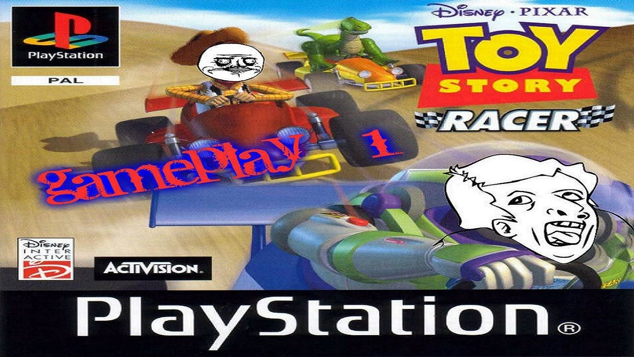 Toy Story Racer : Toy story racer gameplay ps youtube