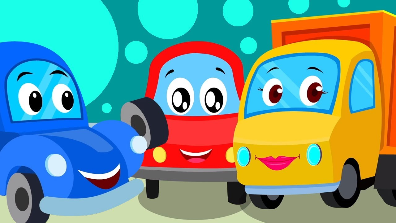 Rig A Jig Jig | Canciones infantiles en español | Educación | Little Red Car | Dibujos animados