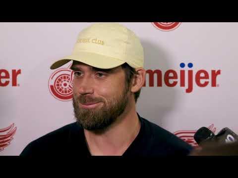 Henrik Zetterberg | 2018 Detroit Red Wings Training Camp