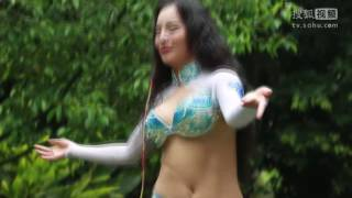 Belly Dance Chinese Girl