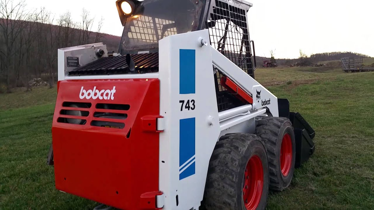 bobcat 743 skid steer manual