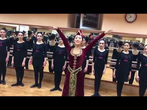 Видео армянского свадебного танца в исполнении китаянки